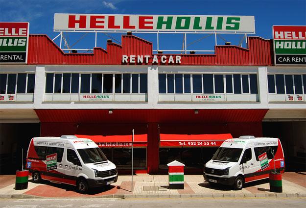 Oficina de Helle Hollis en Málaga